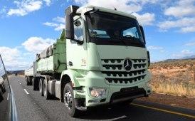 Actros e Arocs di Mercedes in Sudafrica