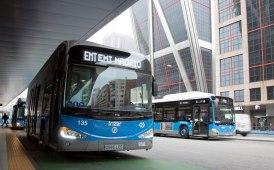 Mobilità sostenibile: in lungo e in largo per Madrid con i nuovi Irizar ie bus