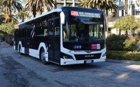 Il primo bus Lion's City ibrido in servizio