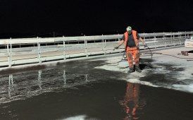 Elastobitume: cold applied waterproofing of viaduct decks