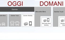 Daimler Ag si dividerà in due