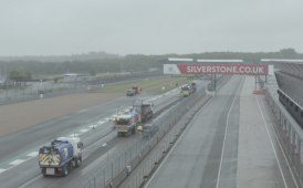 "A top team for the ""race"" to resurface Silverstone [photo gallery]"