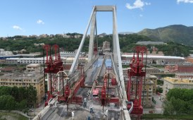The engineering contribution in the demolition work of the Morandi Bridge