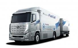 Camion a idrogeno Hyundai H2 Xcient per un trasporto green in Svizzera