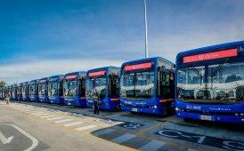 Consegna record di bus elettrici Byd in Colombia