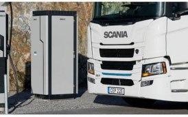 Truck elettrici, già crash test Scania
