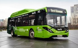 Due Enviro200EV per First Glasgow
