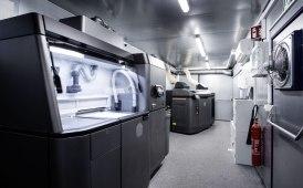 Daimler Buses realizza un centro mobile per la stampa 3D dei ricambi