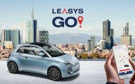 Dopo Torino, Nuova 500 elettrica invade Milano con LeasysGO!