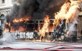 """""""Giorno di fuoco"""" per i bus di Atac"""