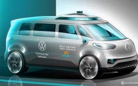 Guida autonoma nei commerciali, VW di BUZZ buono