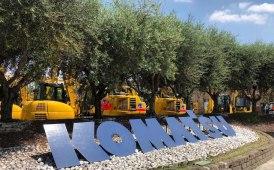 Komatsu fa ancora più Rete in Italia [FOTOGALLERY]