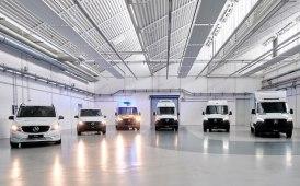 """Gli LCV Mercedes all'attacco: gli elettrici sono già """"vestiti"""""""
