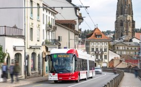 Hess consegna dieci LightTram alla città di Friburgo