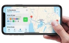 Rilasciato aggiornamento su Apple Maps
