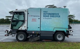 Singapore approves the tests for the first autonomous driving street sweeper