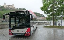 Trasporto, la 'doppia prima' di Solaris a Würzburg in Germania