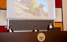 Amiclare Merlo insignito della laurea honoris causa in ingegneria meccanica