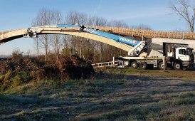 Ci sono le piattaforme GV3 Venpa dietro al nuovo rivestimento del ponte sull'Oglio