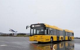 Un Solaris Urbino 12 alle porte dell'Artico