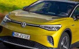 Head-up il display futuristico VW