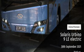 Solaris presenta il nuovo Urbino 9 Le Electric