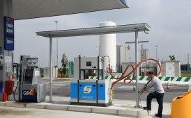 Sulla A35 Brebemi sono stati inaugurati i primi distributori CNG-LNG