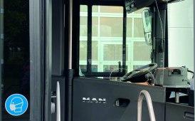 Autisti di bus e pullman protetti grazie alle paratie divisorie di Man
