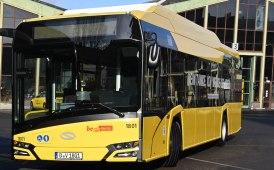 I primi nuovi Urbino 12 elettrici a BVG