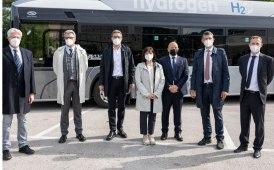 A Bolzano la prima flotta di autobus a idrogeno verde