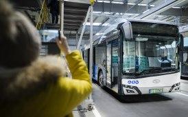 Il roadshow del Solaris Urbino 12 Hydrogen in Polonia
