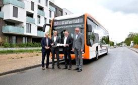 Tre eCitaro per la mobilità a Mannheim