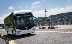 Otto bus elettrici ad Amburgo per Irizar