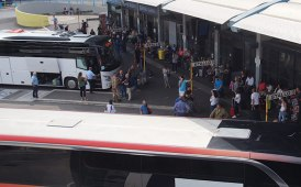 Tibus in prima linea per i controlli anti-COVID sui viaggiatori dall'Est Europa
