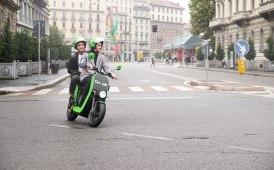 Milano tiene a battesimo lo scooter sharing elettrico Go-Volt