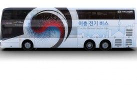 Bus elettrici: Hyundai svela il suo bipiano