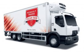 Renault Trucks in giro per l'Italia