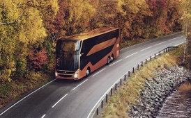 A febbraio il bipiano 9700 Dd Volvo per l'Europa