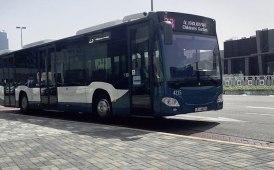 Un altro centinaio di Citaro consegnati per il trasporto pubblico ad Abu Dhabi