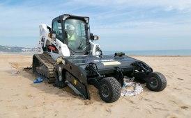 Da Bobcat arriva l'attrezzatura hi-tech per pulire le spiagge