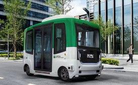 Shuttle a guida autonoma: test di Arval su strada pubblica in Francia