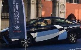 Toyota più Eni per l'idrogeno a Venezia