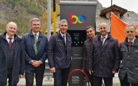 Via al progetto di Be Charge in Valle d'Aosta: 250 stazioni in due anni