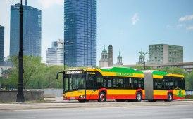 Mobilità elettrica: iniziata la consegna dei 130 Urbino 18 a Varsavia