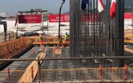 Il nuovo ponte di Genova prende corpo