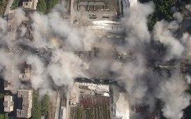 """Pile 10 e 11 demolite: il """"Polcevera"""" è stato polverizzato [gallery] [video]"""