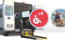 In vacanza con i veicoli di Morini Rent Mobility allestiti per il trasporto disabili