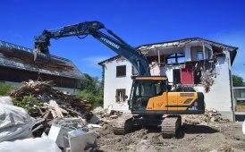 Hyundai HX220AL, nuovo escavatore protagonista alla Holzer Tiefbau