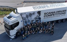 #Scania Driver Competitions (PODIUM)