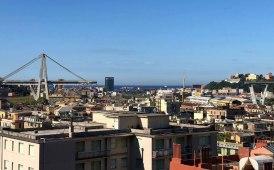 Morandi, inaugurato il cantiere delle attività propedeutiche alla demolizione
